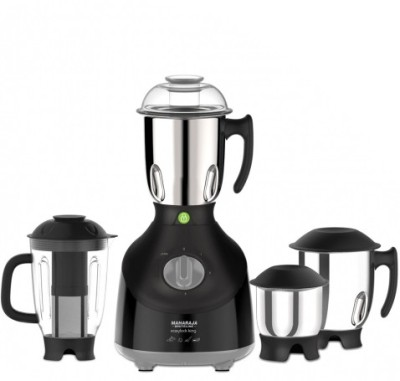 Maharaja Whiteline Easylock King MX-137 750W Mixer Grinder (4 Jars)
