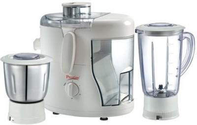 Prestige Champ 1.5L 500 Watt Mixer Grinder, 3 Jar - White