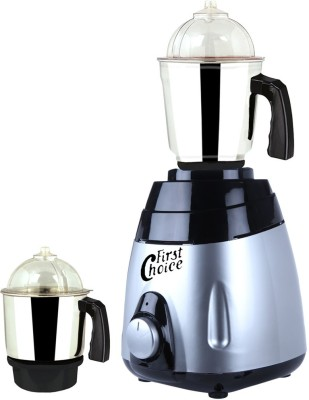 Firstchoice MA ABS Body MGJ 2017-1 600 W Mixer Grinder(Multicolor, 2 Jars)