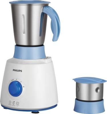 Philips HL7600/04 500 W Mixer Grinder(White, Blue, 2 Jars)