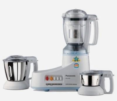 Panasonic MX-AC350 550 W Mixer Grinder White, (3 Jars)