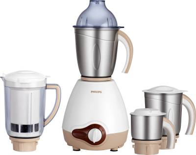 Philips-HL1646/01-600W-Mixer-Grinder-(4-Jars)
