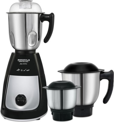 Maharaja-Whiteline-Joy-Turbo-750W-Juicer-Mixer-Grinder-(3-Jars)