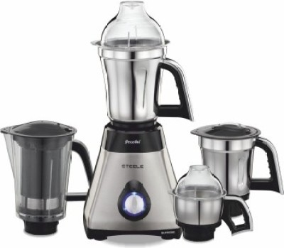 Preethi-Steele-Supreme-MG208-750W-Juicer-Mixer-Grinder