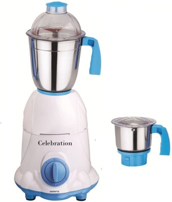 Celebration C MG16 3 600 W Mixer Grinder(White, 2 Jars)