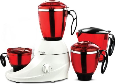 Butterfly Desire 4 Jars 1 Hp 745 W Mixer Grinder(Red, 4 Jars)