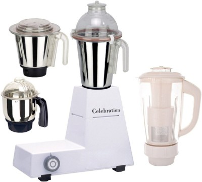 Celebration C MG16 100 750 W Mixer Grinder(Body, 4 Jars)