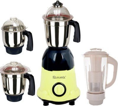 Rotomix Loaded 4 Jar 750 W Mixer Grinder