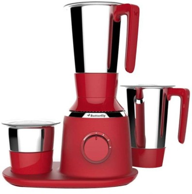 Butterfly Spectra SPECTRA 750 W Juicer Mixer Grinder(Red, 3 Jars)