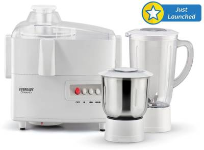 Eveready Dynamo 450 W Juicer Mixer Grinder (2 Jars) Image