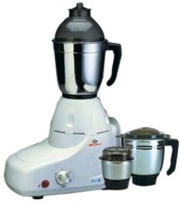 Bajaj GX 8 Majesty GX8 750 W Mixer Grinder(White, 3 Jars)