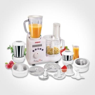 Jaipan Kitchen 650 W Mixer Grinder(White, 3 Jars)