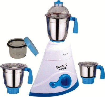 Sunmeet Power Plus Leaf 07 750W Mixer Grinder (3 Jars)