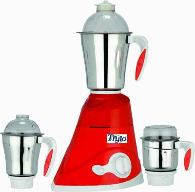 Trylo-Peacock-Red-750-W-Mixer-Grinder