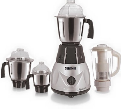 Sunmeet SM Metallic 4 jar New MG16 127 750 W Mixer Grinder(Metallic, 4 Jars)