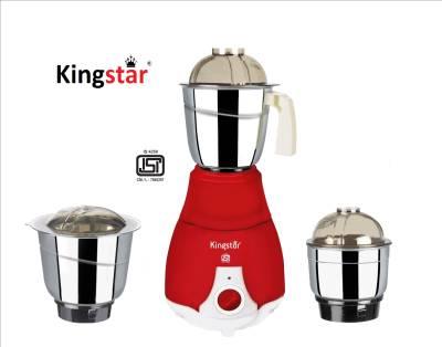 Kingstar Aristo 550W Mixer Grinder (3 Jars) Image