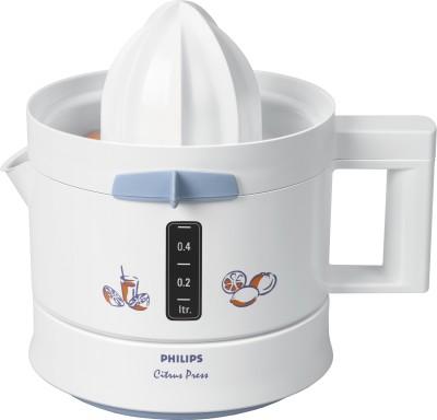 Philips Citrus Press HR2774 25 W Juicer(White, 1 Jar)