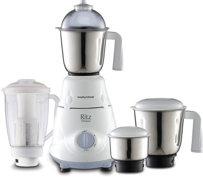 Morphy Richards Ritz Classique 600 W Mixer Grinder(White, 4 Jars)