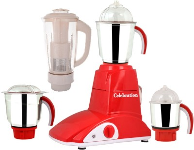 Celebration MG16-49 4 Jars 600W Mixer Grinder