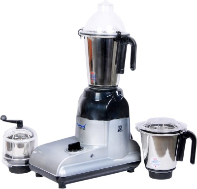 Sumeet DOMESTIC DXE PLUS 750 W Mixer Grinder(Black, Grey, 3 Jars)  available at flipkart for Rs.5099