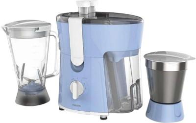 Philips HL7575 600 W Juicer Mixer Grinder(Celestial Blue & Bright White, 2 Jars)