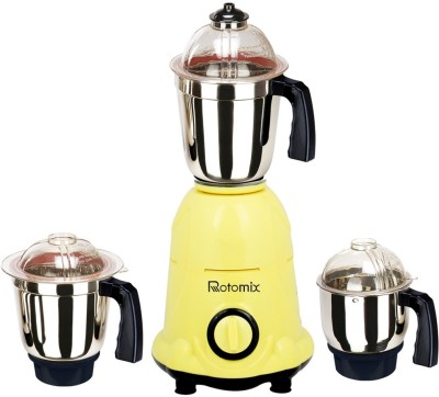 Rotomix RTM-MG16 105 1000 W Mixer Grinder(Yellow, 3 Jars)