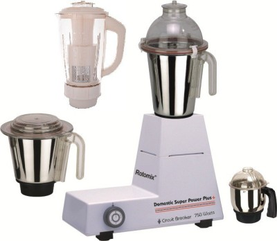 Rotomix Sharp 4 Jar 750W Mixer Grinder