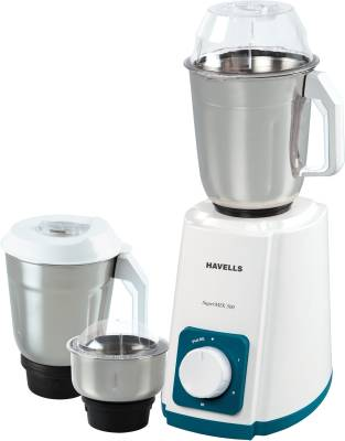 Havells Supermix 500 W Mixer Grinder (3 Jars) Image