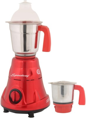 speedway MG16-544 600 W Mixer Grinder(Red, 2 Jars)