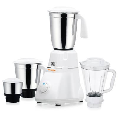 Orange-Evon-550W-Mixer-Grinder-(4-Jars)