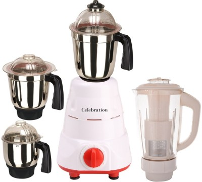 Celebration MG16-20 4 Jar 600W Mixer Grinder