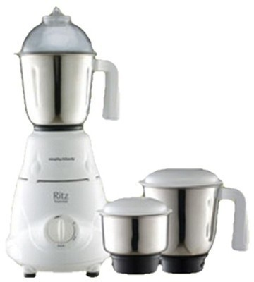 Morphy Richards Ritz Essential MG 600 Watt Mixer Grinder, 3 Jars