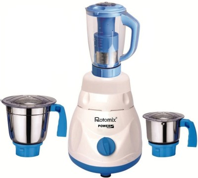 Rotomix New_MGJ 84 Latest Jar attachments of chutney medium   juicer jarType 621 750 W Juicer Mixer Grinder Multicolor, 3 Jars