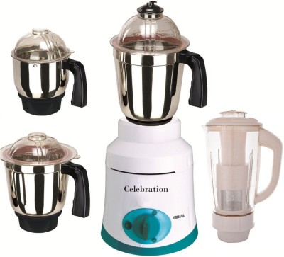 Celebration MG16-124 4 Jar 1000W Mixer Grinder