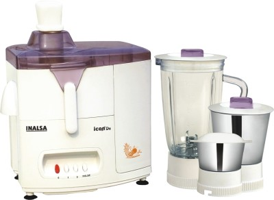 Inalsa Icon Dx 450W Juicer Mixer Grinder