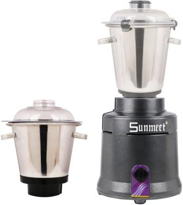 Sunmeet Aluminium Body Heavy Duty MG16 749 1800 W Mixer Grinder Grey, 2 Jars  Sunmeet Mixer Juicer Grinder
