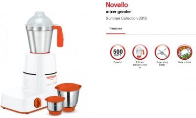 Maharaja Whiteline Novello 500W Mixer Grinder