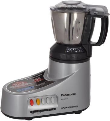 Panasonic MX-AC400 550 W Mixer Grinder(Silver, 4 Jars)