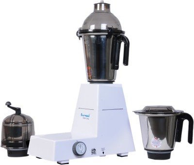 Sumeet Domestic DXE 750 W Mixer Grinder(White, 3 Jars)  available at flipkart for Rs.3999