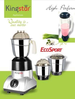 Kingstar Ecosport 550W Juicer Mixer Grinder (4 Jars) Image