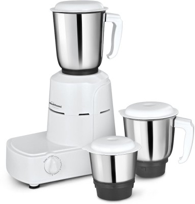 Sunflame Champion 500 W Mixer Grinder(White, 3 Jars)