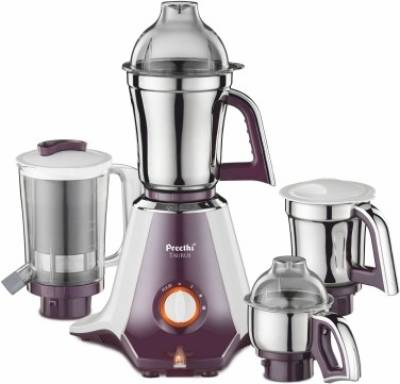 Preethi-Taurus-750W-Mixer-Grinder-(4-Jars)