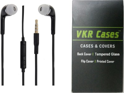 VKR Cases Headset Accessory Combo for Samsung Galaxy E7 Black, Transparent
