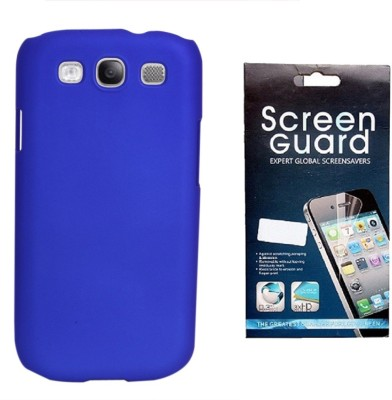 RDcase RDcase Back Cover + Screen Guard for Samsung Galaxy S3 I9300::S III::Samsung Galaxy S3 Neo - Royal Blue Accessory Combo(Blue)