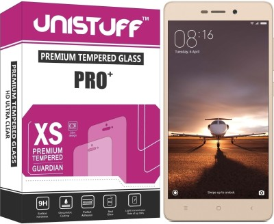 Unistuff Tempered Glass Guard for Mi Redmi 3S, Mi Redmi 3S Prime, Mi Redmi 3S Plus(Pack of 1)