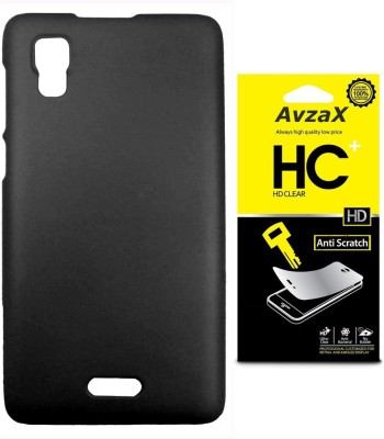 Avzax Cover Accessory Combo for Micromax Canvas Doodle 3 A102(Black)