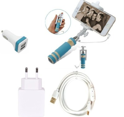 Cell Planet Wall Charger Accessory Combo for Samsung Galaxy S3 EDGE White, Black