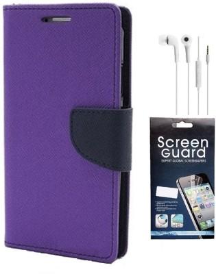Coverage Cover Accessory Combo for Mercury CoolPad Dazen Note 3, CoolPad Note 3(Purple)