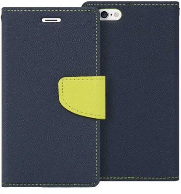 Novo Style Flip Cover for Apple iPhone 6s Plus Blue