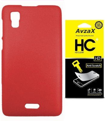 Avzax Cover Accessory Combo for Micromax Canvas Doodle 3 A102(Red)